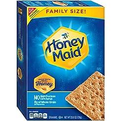 Honey Maid Family Size Graham Crackers  ...