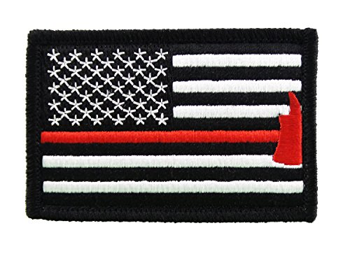 Firefighter Velcro Morale United States