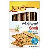 Suzies Spelt Multiseed Flatbreads – 125g