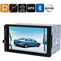 Generic 2 Din Car Media Player - 7 Inch Display, For Nissan Cars, Bluetooth, Wifi, 3G, Octa-Core, 2Gb Ram, Gps, Hd Display, Android 6.0