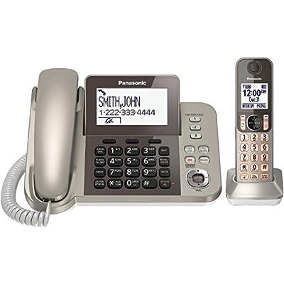 Panasonic KXTGF350N Dect 1-Handset Landline Telephone (Certified Refurbished)