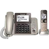 Panasonic KXTGF350N Dect 1-Handset Landline Telephone (Certified Refurbished)