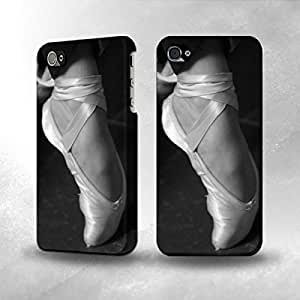 Apple iPhone 5 / 5S Case - The Best 3D Full Wrap iPhone Case - Ballet Pointe Shoe by lolosakes