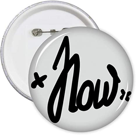 Letter L Initial Black White Pinback Button Pin Badge