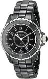 CHANEL Women's J12 Ceramic & Stainless Steel Watch - Black