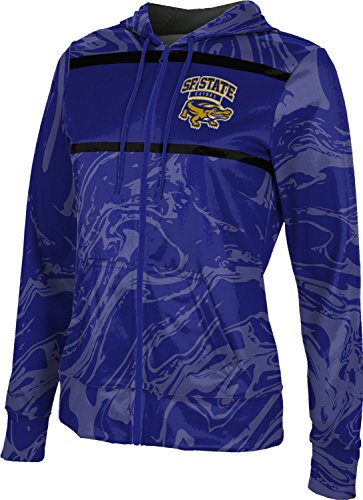ProSphere San Francisco State University Women's Full Zip Hoodie - Ripple FCFD1