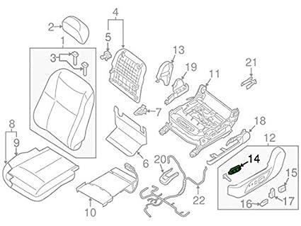 Altima Power Seat Motor Diagram Motor Repalcement Parts And Diagram