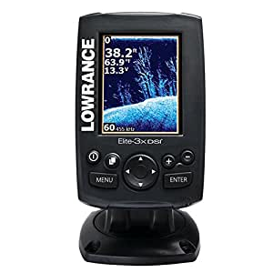 Lowrance Elite-3x DSI Fishfiner with Transom Mount Transducer