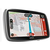 TomTom Trucker 6000 6-inch GPS Truck Satellite Navigation System K, ROI and Full Europe Maps - Black