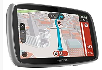 TomTom Trucker 6000 GPS Sat-Nav with Full European (Including UK) Lifetime  Maps and 1 Year Live Traffic Services Designed for Truck, Coach, Bus,