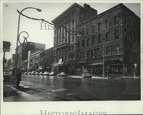 (1985 Press Photo South Salina 300 Block Buildings in Syracuse New York)