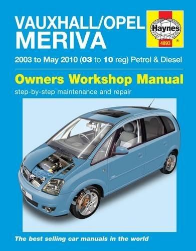 Vauxhall//Opel Meriva Petrol /& Diesel 2003-May 2010 03 to 10