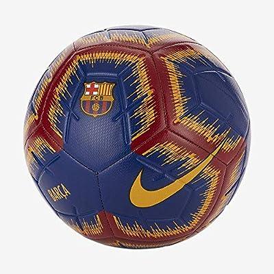Nike FC Barcelona Soccer Strike Ball Size 5 DEEP Royal/University Gold