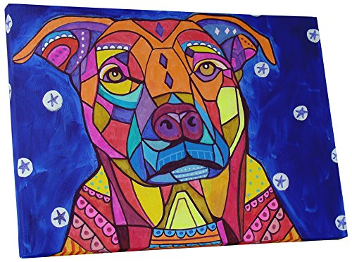 Pingo World bright bulldog wall decorations
