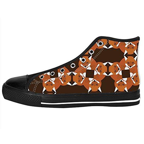 Shoes Da Dalliy Tetto Alto Ginnastica Delle Canvas Women's Lacci I Fox Scarpe Custom Zz1zWB46