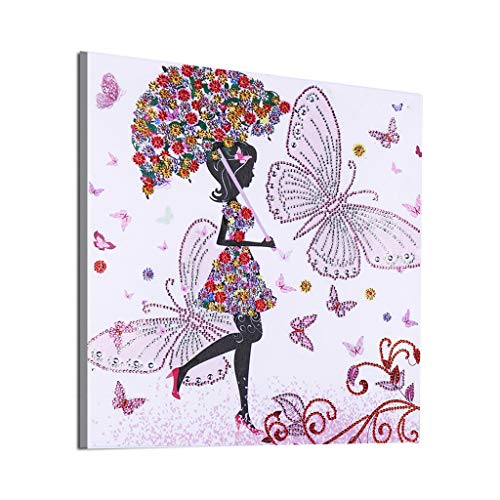 ❀ liyeziaaa ❀ Diamond Embroidery, Special Shaped Diamond Painting DIY 5D Partial Drill Cross Stitch Kits Crystal R
