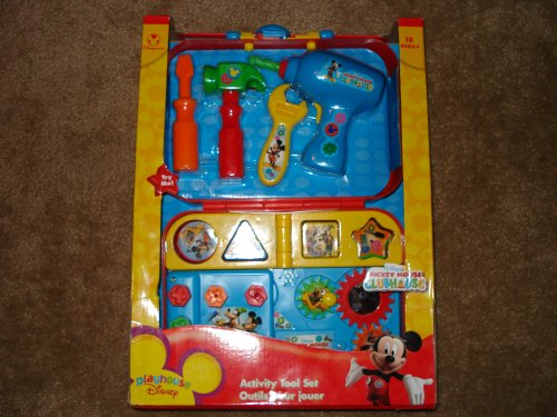UPC 696315006945, Playhouse Disney Mickey Mouse Clubhouse Activity Tool Set