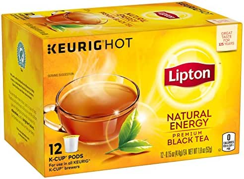 Tea Bags: Lipton Black Tea