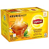 Lipton Premium Black Tea K-Cups, Natural Energy 12 ct
