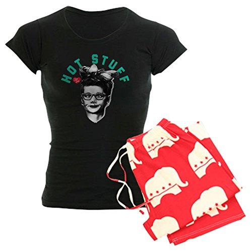 (CafePress I Love Lucy Hot Womens Novelty Cotton Pajama Set, Comfortable PJ Sleepwear )