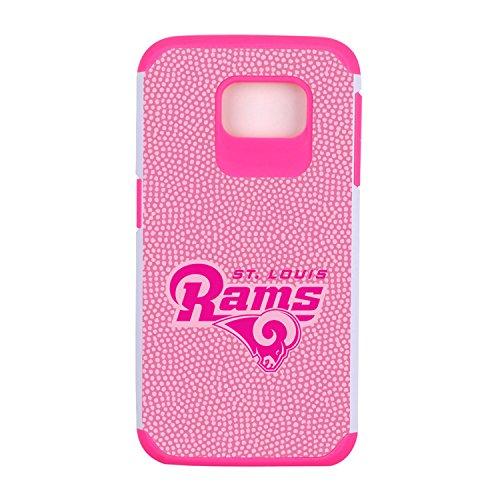 NFL St. Louis Rams Football Pebble Grain Feel Samsung Galaxy S6 Case, - Ball Rams Louis