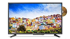 oCosmo 32 Inch 720p LED HDTV With Build in DVD Player, TV-DVD Combo Fine Black (2018)