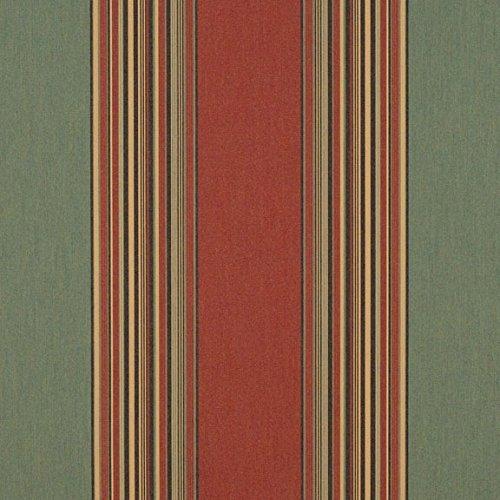 Sunbrella Henna/Fern Vintage #4969-0000 Awning / Marine Fabric