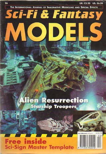 Sci-Fi & Fantasy Models # 26 Feb/Mar 1998 The International Journal of Imaginative Modeling and Special Effects