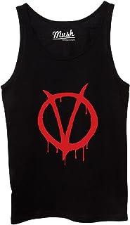 MUSH Canotta V for Vendetta Logo - Film by Dress Your Style