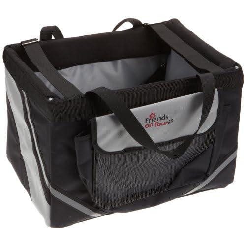 new Trixie Front-Box Basic pour vélo Noir / Gris