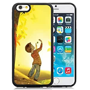 New Personalized Custom Designed For iPhone 6 4.7 Inch TPU Phone Case For Boy Playing Illustration Phone Case Cover