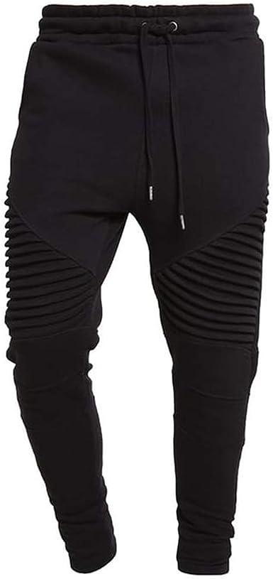 LFEU Pantalones Deportivos para Hombre Pantalones de chándal de ...