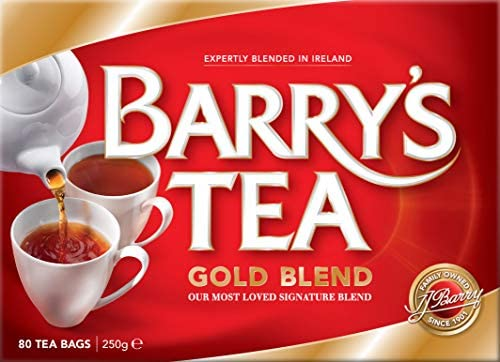Photo of Barry's Tea Gold Blend – 80 Teabags – 250g – Expertly Blended in Ireland – Best Chili Recipe