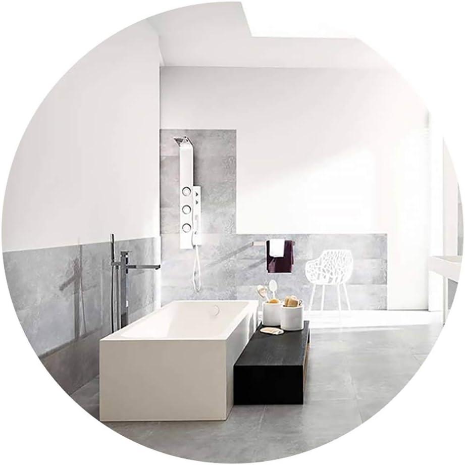 Bathroom Mirror Makeup Mirror Vanity Mirror Nordic Wall Mounted Bathroom Mirror Round Mirror Vanity Mirror Makeup Mirror Shaving Mirror Bathroom Decoration 40 40cm 50 50cm Size 40 40cm Amazon Ca Home Kitchen