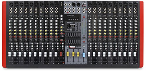(NOVIK NEO NVK-20M USB MIXER, NOW WITH BLUETOOTH, MP3 player, Compatible with USB and SD memories, DSP with 99 internal effects, 3 Stereo channels, Graphic Equalizer)