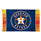MLB Houston Astros 01776115 Deluxe Flag, 3' x 5'