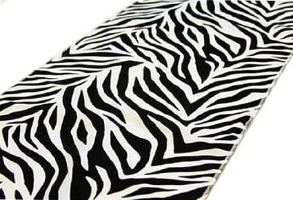 Image of: Images 12 108 Safari Animal Print Zebra Table Runner Amazoncom Amazoncom 12 108 Safari Animal Print Zebra Table Runner
