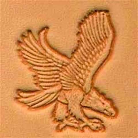 Springfield Leather Company Right Facing Attack Eagle 3D Leather Stamp