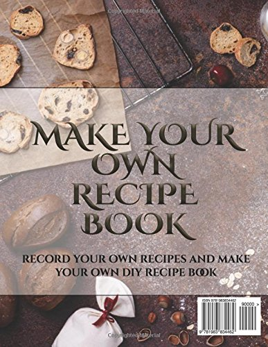 blank recipe book a blank recipe journal with recipe templates to
