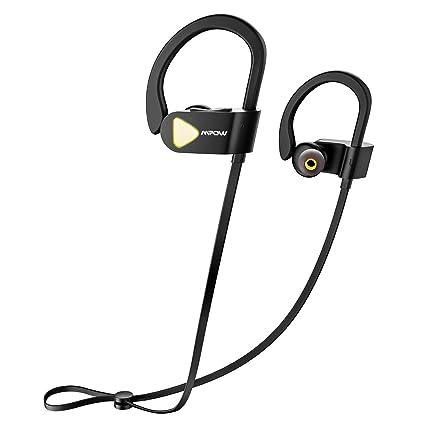 Auriculares Bluetooth sport, [Modified Versión] Mpow inalámbrico Bluetooth 4.1 Sport Auriculares Sweatproof Auriculares
