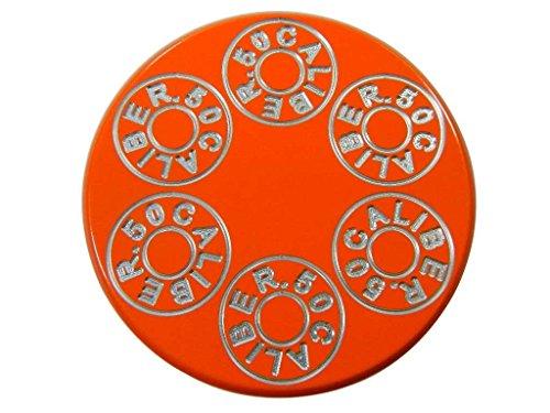Orange Billet Aluminum Gas Cap Fits All Polaris UTV Models XP1000 XP900 900s 800s 800 Trail Jagged X RZR4 RZR [5349-A3]
