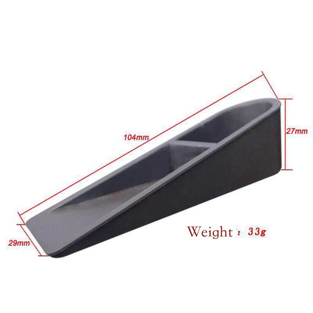 pour Bureau ou Maison Cales en Gel de silice Antid/érapant Blanc // Marron // Noir Pinkopink Lot de 4/bloque-portes