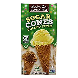 Let's Do…Gluten Free Sugar Cones Rolled Style