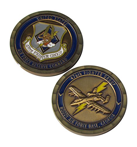 Group Challenge Coin - US Air Force Reserve 476th Fighter Group Moody AFB Georgia Challenge Coin