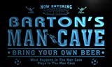 qd1475-b BARTON's Man Cave Soccer Football Neon Beer Sign