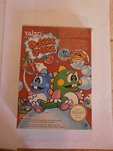 Bubble Bobble - Nintendo NES - Bobble Puzzle Bubble Game