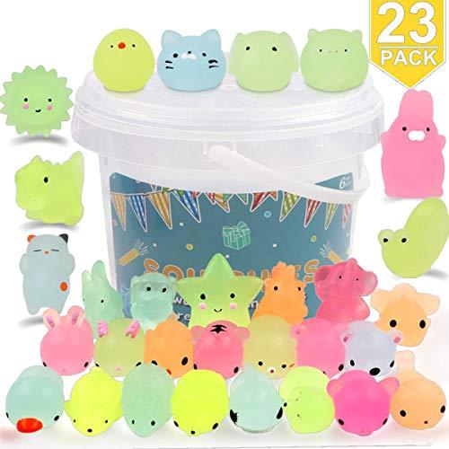 POKONBOY Squishies Mochi Squishy Toys Glow in The