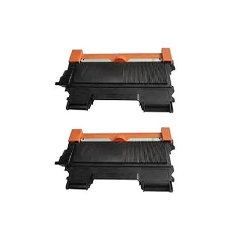 2 Negro ECS Compatible Cartuchos de tóner TN2010 para ...