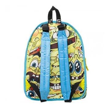 Amazon.com | Spongebob Square Pants Reversible Yellow Backpack Bag | Kids Backpacks