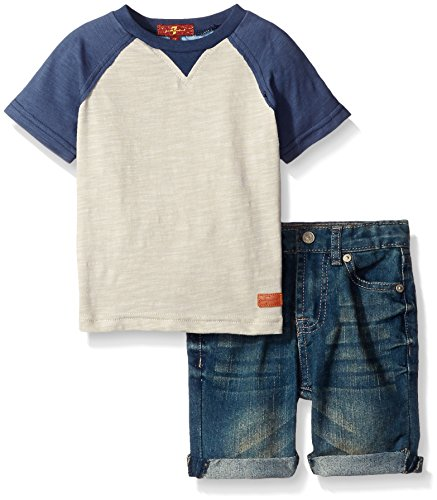 All Mankind Bermuda Baseball T Shirt